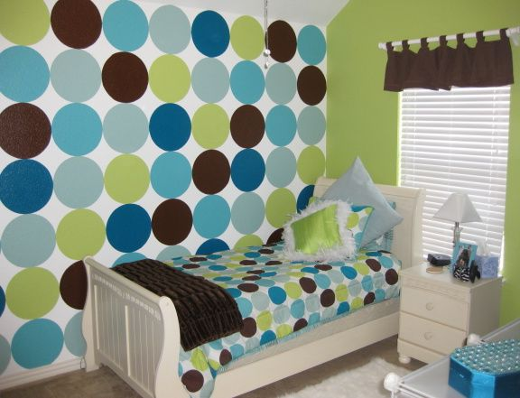 Girls Bedroom Paint Ideas Polka Dots 10 best attractive and wonderful bedroom design ideas with wall