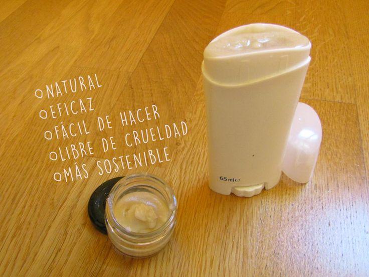 Desodorante hecho en casa: te contamos cómo hacerlo