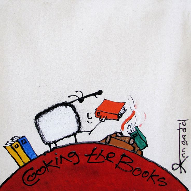 """Cooking the Books"" by Ann Gadd"