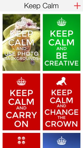 Keep Calm Creator ($0.00 with iAP to upgrade to Pro) allows you to create custom Keep Calm and Carry On posters by changing the text, icon and background color. Once you have created your poster you can save it to your photos as well as scroll through any previous posters that you have created (and edit them). Shared by Matt Gomez via iPadsammy.