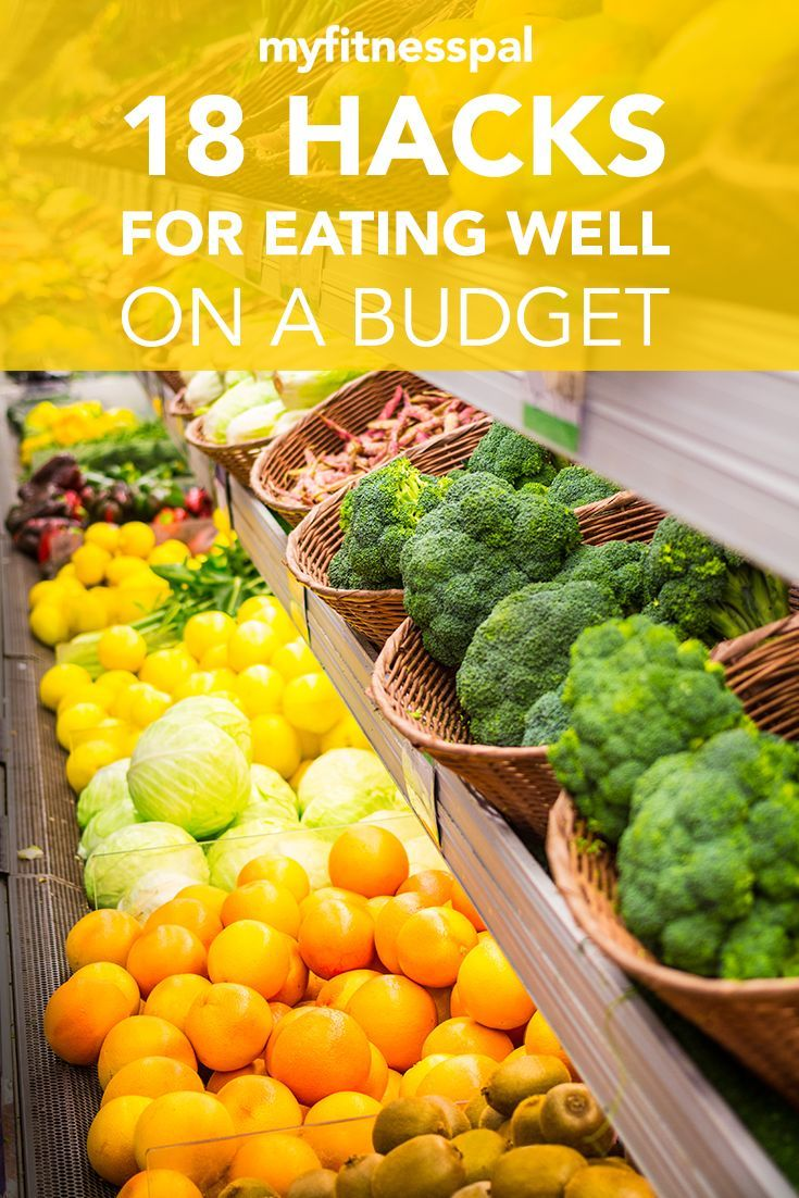 18 Hacks For Eating Well On A Budget