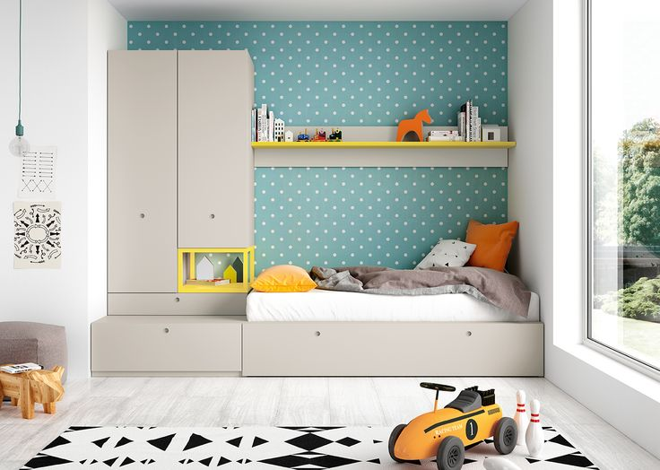 208 best images about dormitorios juveniles youth bedroom on pinterest boy rooms - Disenar dormitorio juvenil ...