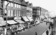 Fulham, North End Road 1964