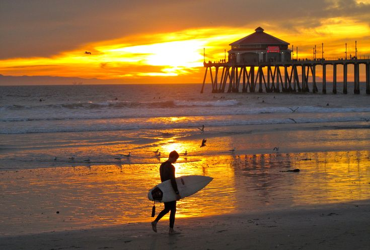 sand and surf - Bing Images//The end of a wonderful day on the beach.