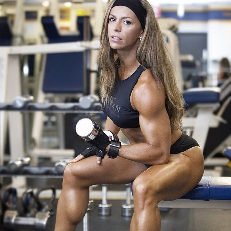 GIRL MUSCLE | women with muscle | Pinterest | Workout ...