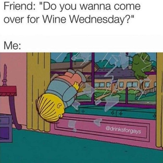 When you get that text. | 22 Wine Memes That Will Make Wine Lovers Laugh