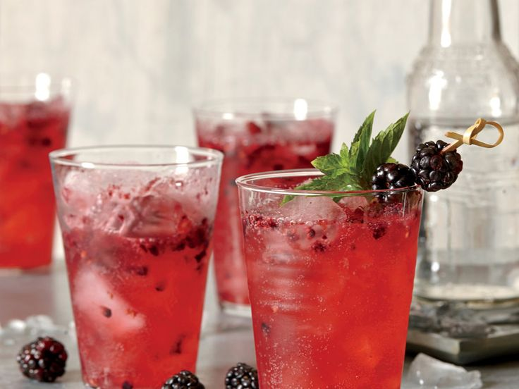 Marionberries, an exceptionally juicy, slightly tart blackberry variety developed by Oregon State University, are perfect for this fizzy...