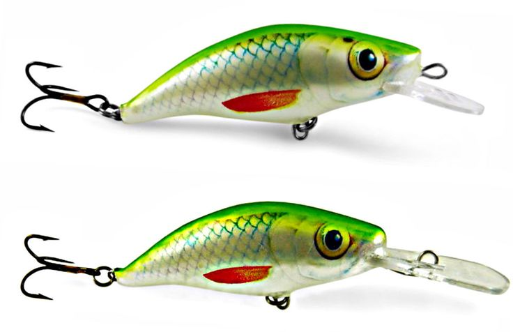Ugly duckling fishing lures bass walleye lake trout lure 2 for Lake trout fishing lures