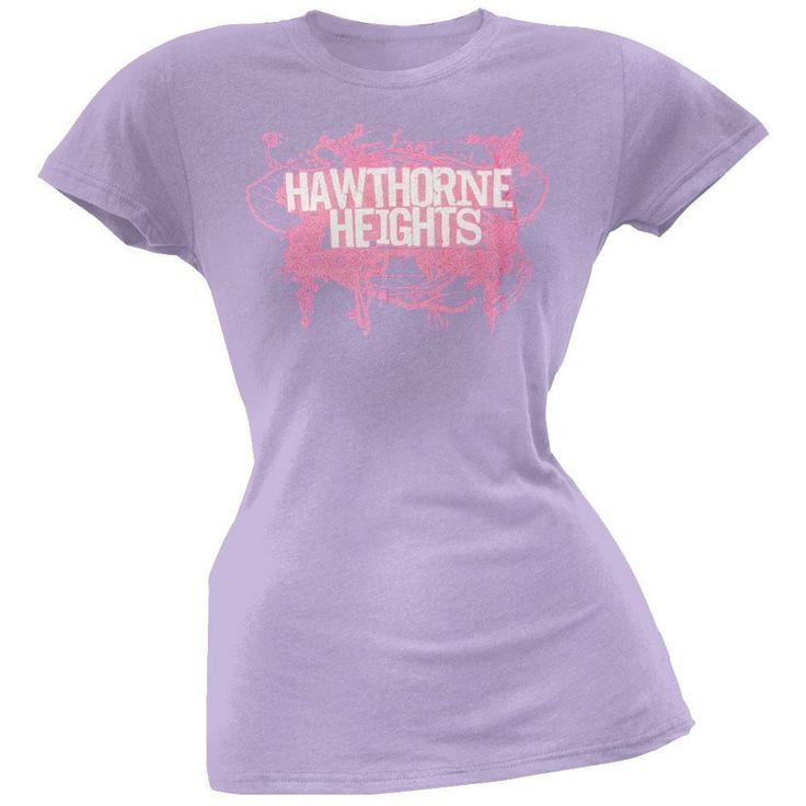 Hawthorne Heights - Mess Juniors T-Shirt