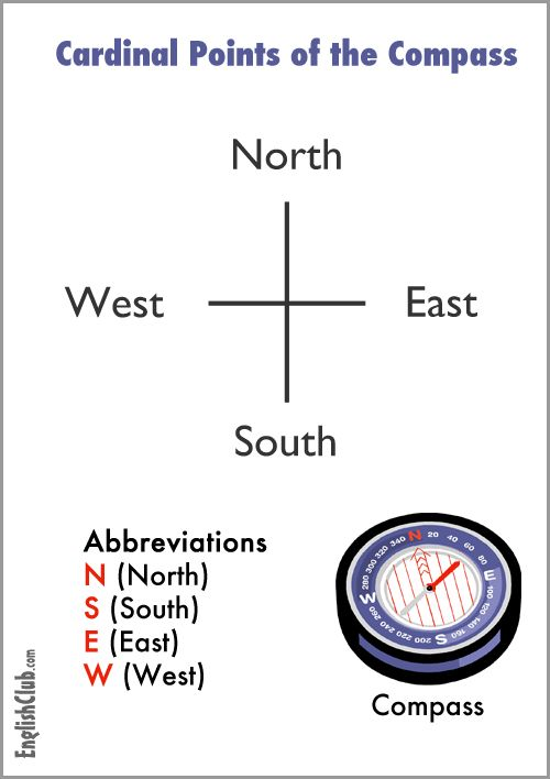 Four Points of the Compass