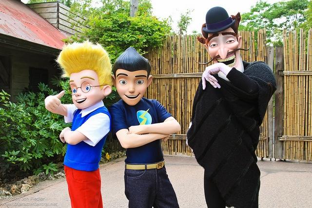 Bowler Hat Guy at Disney Character Central