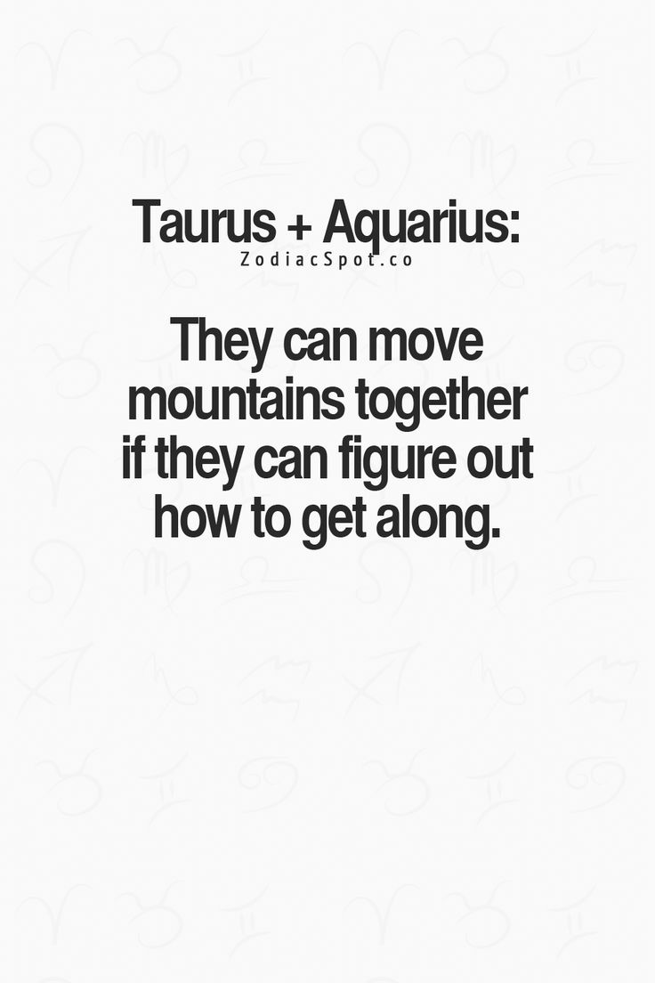 Zodiac signs that are compatible with aquarius