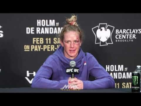 MMA UFC 208 Post-Fight Press Conference: Holly Holm
