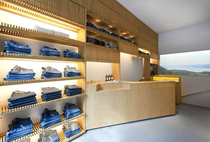 A.P.C Royale boutique by Laurent Deroo, Paris store design