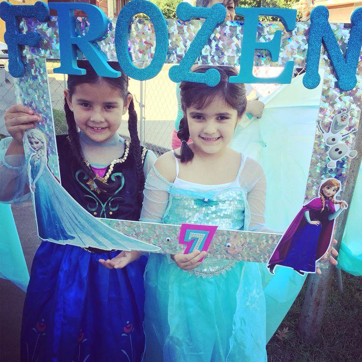 Frozen Picture Frame Frozen Mania ️⛄️ Frozen Bday Party Frozen Birthday