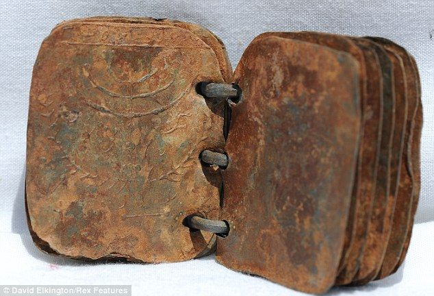 tiny old book - Initial metallurgical tests indicate that some of the books could date from the first century AD.