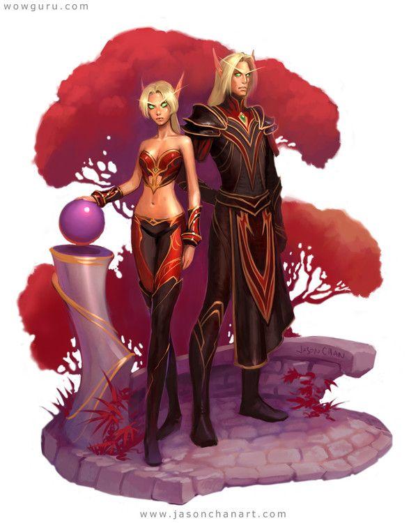 Blood elf_big / Elfe de sang