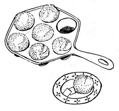 Rycraft Cookie Stamps - Cookie Recipes & Baking Tips - 20 Scandinavian Cookies by Robin Rycraft, 1971 - Ableskiver