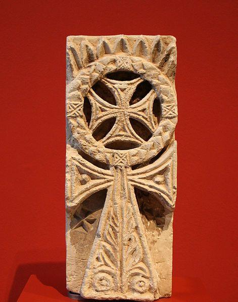 the original form of the Coptic Cross File:RPM Ägypten 282.jpg
