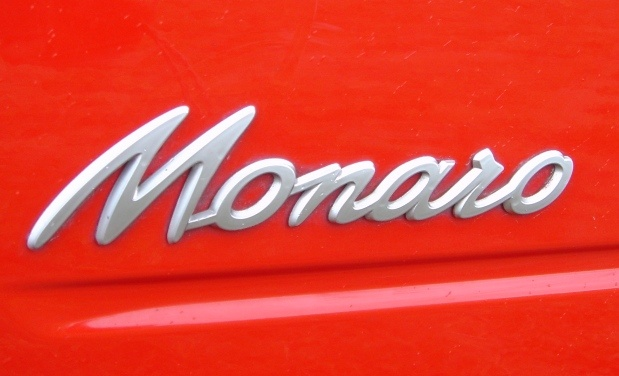 A classic logo design that was used in the first Monaro range in the late 60's and is still as stylish as ever. The name came from a region in Australia, but has certain undertones of the 'Camaro' name, another GM classic.