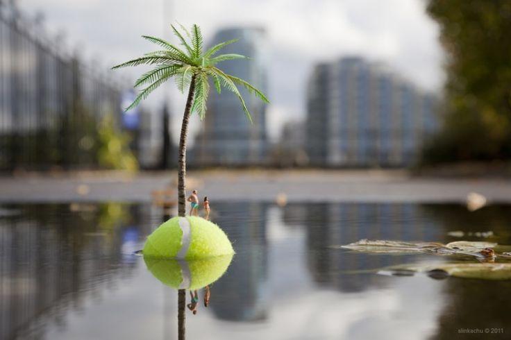 The Last Resort - by Slinkachu, 2011 http://restreet.altervista.org/la-street-art-in-miniatura-di-slinkachu/