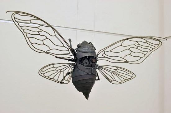 steampunk art: The Scrap Metal Sculptures of Edouard Martinet