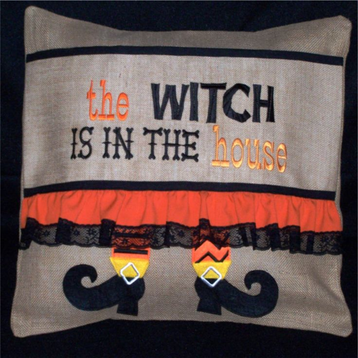 Witch in The House Pillow