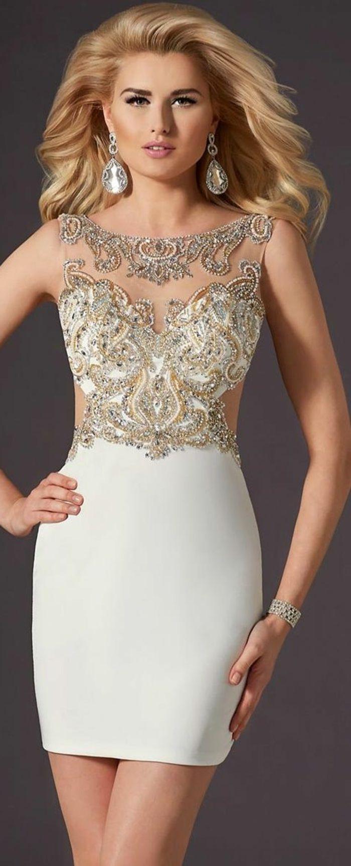 une jolie variante pour bien choisir sa robe de soire