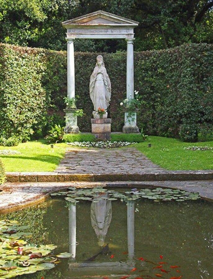 Giardino Dell Madonna, Castel Gandolfo. Outdoor Fire PitsGarden  StatuesGarden ...
