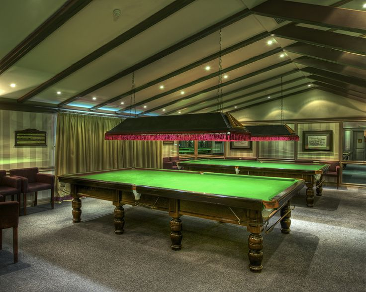 Snooker/ Games room