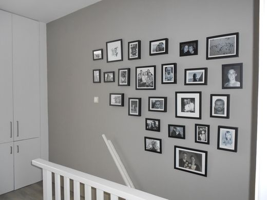 20 beste idee235n over fotolijst muren op pinterest