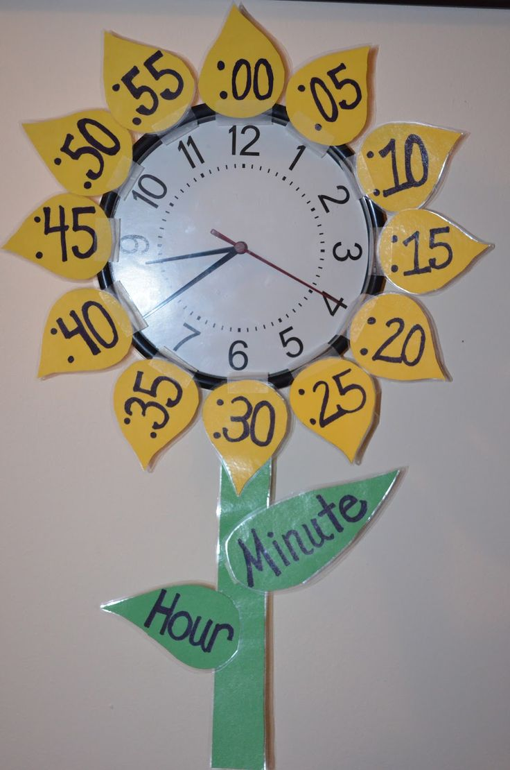 heure- Sunflower Clock