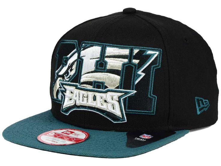 Philadelphia Eagles New Era NFL Big City 9FIFTY Snapback Cap