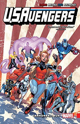 U.S.Avengers Vol. 2: Cannonball Run (U.S.Avengers (2017)) - Collects U.S.Avengers #7-12.SECRET EMPIRE hits the U.S.Avengers — hard! So now it's time to fight back! In exile, believed dead, surrounded by Hydra's forces, Squirrel Girl and Enigma get a much-needed assist — from Guillotine and the Champions of Europe! Meanwhile, in...