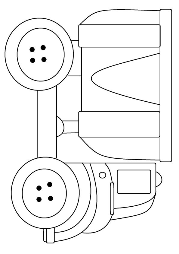 Big Rig Coloring Page In 2021 Monster Truck Coloring Pages Truck Coloring Pages Coloring Pages