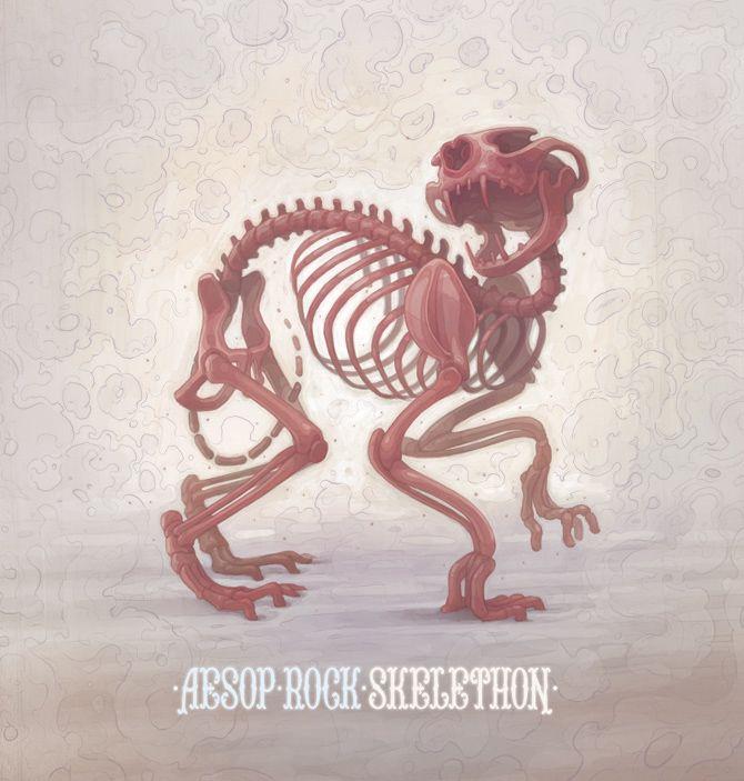 Aesop Rock - Skelethon - ARYZ: Album Covers, Hiphop, Graphics Design, Hip Hop, Zero Dark Thirty, Rocks Skelethon, Covers Art, Aesop Rocks, Music Band