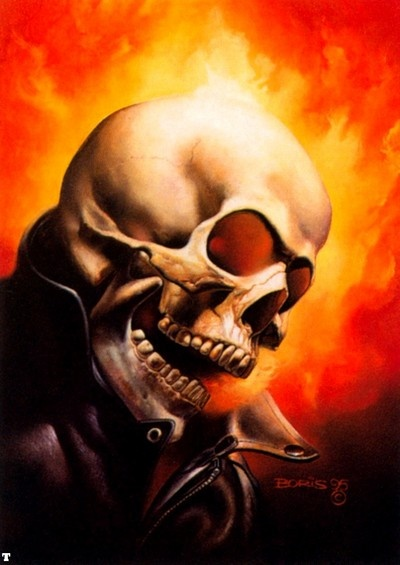 Image of Boris Vallejo (Ghost Rider) - Comic Vine