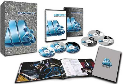 Site News - Michael Jackson's FIRST Moonwalk Ever Comes to DVD: 'Motown 25: Yesterday-Today-Forever'