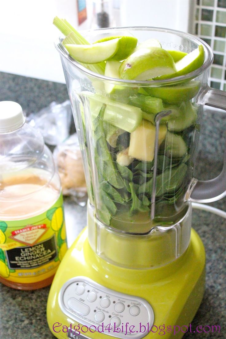 DR OZ MORNING SMOOTHIE: Green Apple, Spinach, Cucumber, Celery, Ginger, Parsley, Lemon, Lime