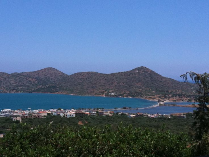 My favourite view - The Causeway in Elounda