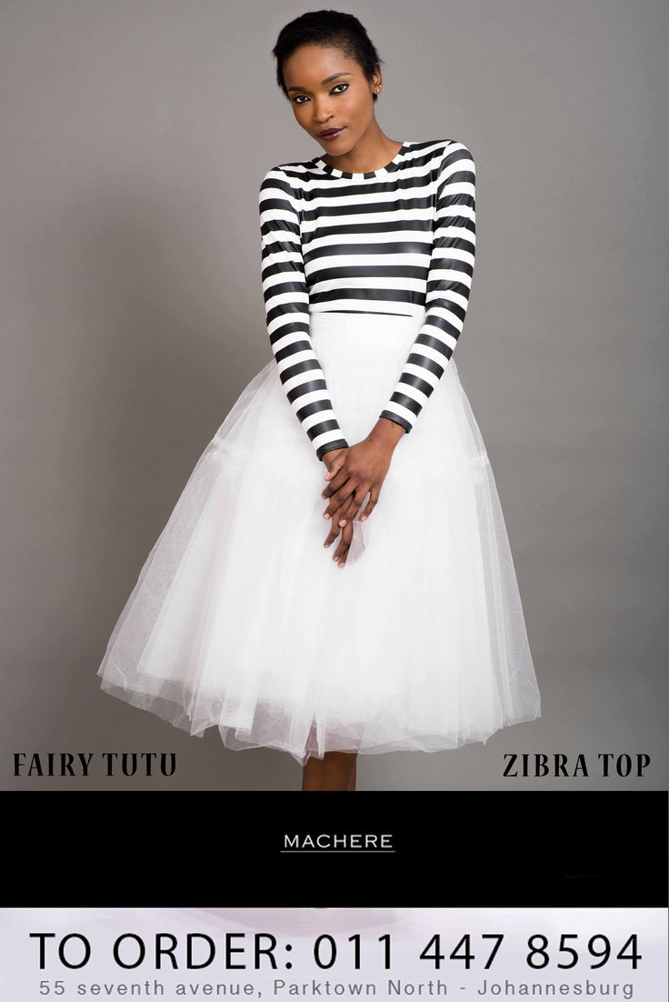 Our #Summer2014Collection order your 'Fairy Tutu & Zibra Top' outfit now. Call us on 0114478594 / Macherep@gmail.com