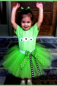 Toy Story Alien Themed Tutu Set Birthday Party Halloween Costume By BlissyCouture