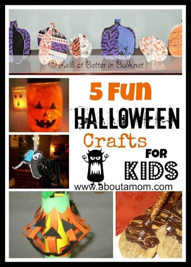 halloween Craft for Kids 1 DIY Craft Ideas Pinterest Craft - bulk halloween decorations