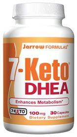 7-Keto Dhea Enhances Metabolism by Jarrow Formulas - Buy 7-Keto Dhea Enhances Metabolism (100 MG) 30 Capsules at