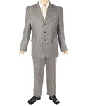 5 piece suit! Jacket, vest, pants, shirt and tie for $49.99. He'll look is best at family dinner, church or a school dance! Size 8-20