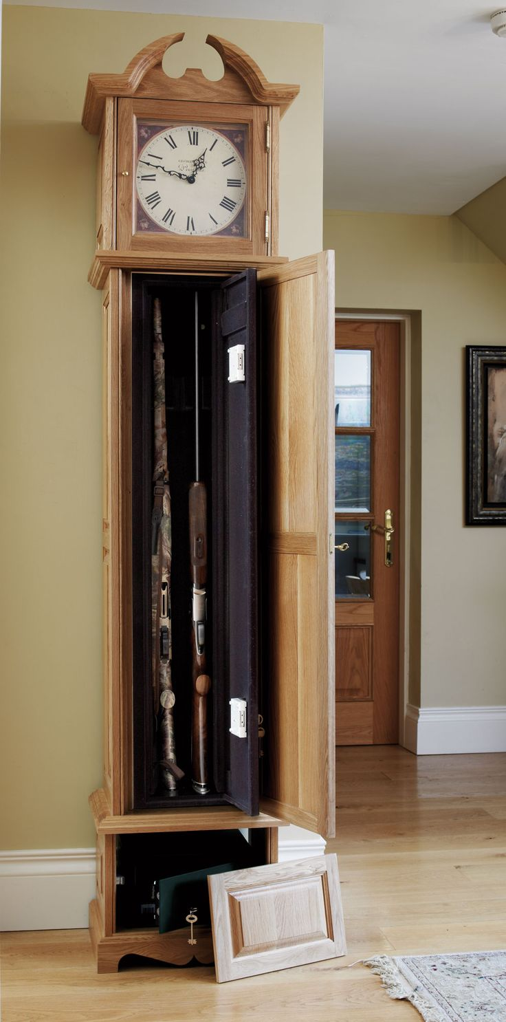 25 best ideas about gun safes on pinterest gun storage for Whatever clock diy