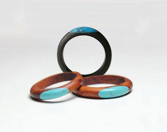 Hey, I found this really awesome Etsy listing at https://www.etsy.com/listing/214920356/rosewood-ring-gem-turquoise-ring-wood