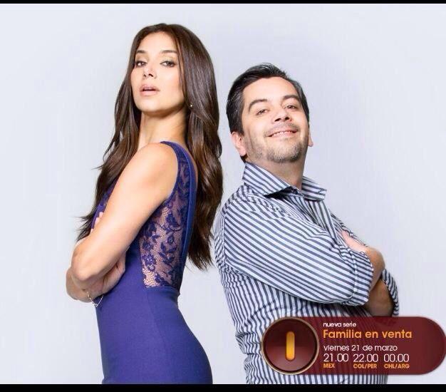 "First Season ""Familia en Venta"" MUNDO FOX Roselyn Sanchez"