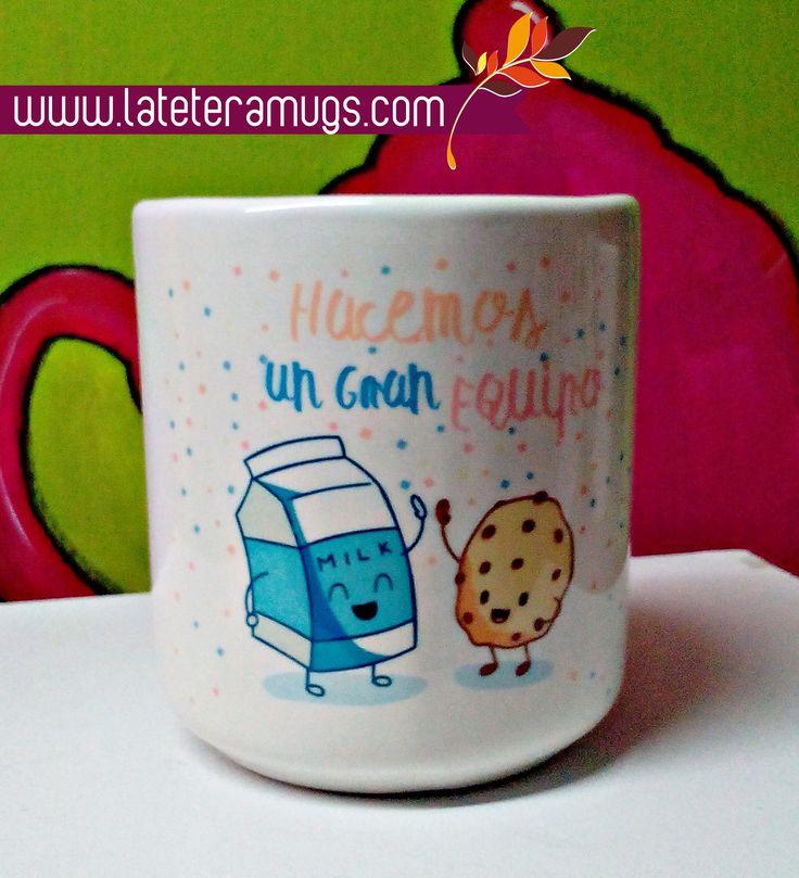 diseños para disfrutar!! esto y mas en www.lateteramugs.com  #coffeetime #coffeelovers