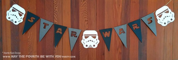 Star Wars Garland and Flags (Downloadable Pattern) // Check out our blog for…